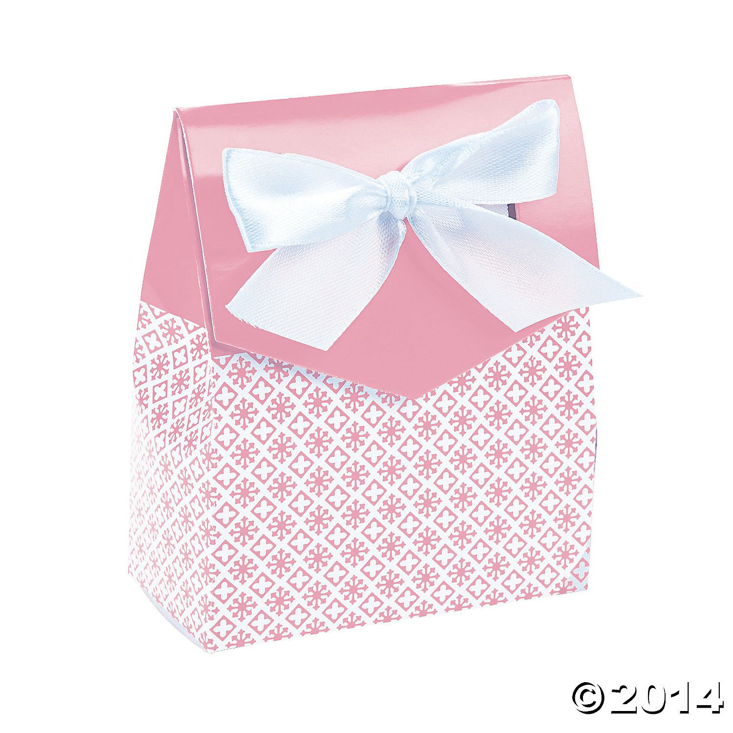 Tent Favor Boxes with Bow | Tents, Favours and Box