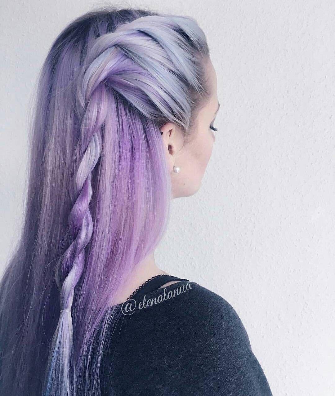 Peinados colores fantasia