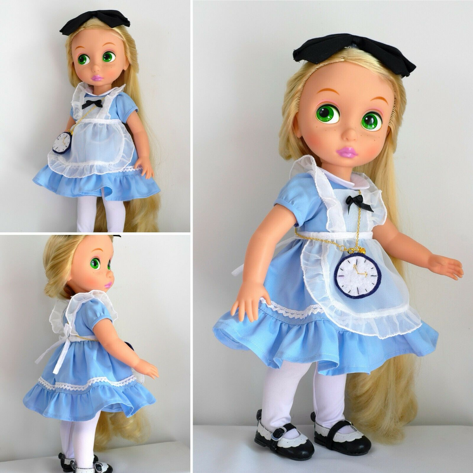"""Disney Baby doll clothes Alice dress clothing Animator/'s collection 16/"""" NO DOLL"""