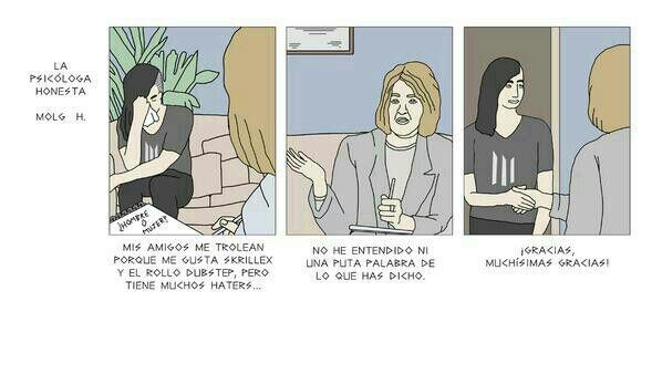 Psicóloga honesta