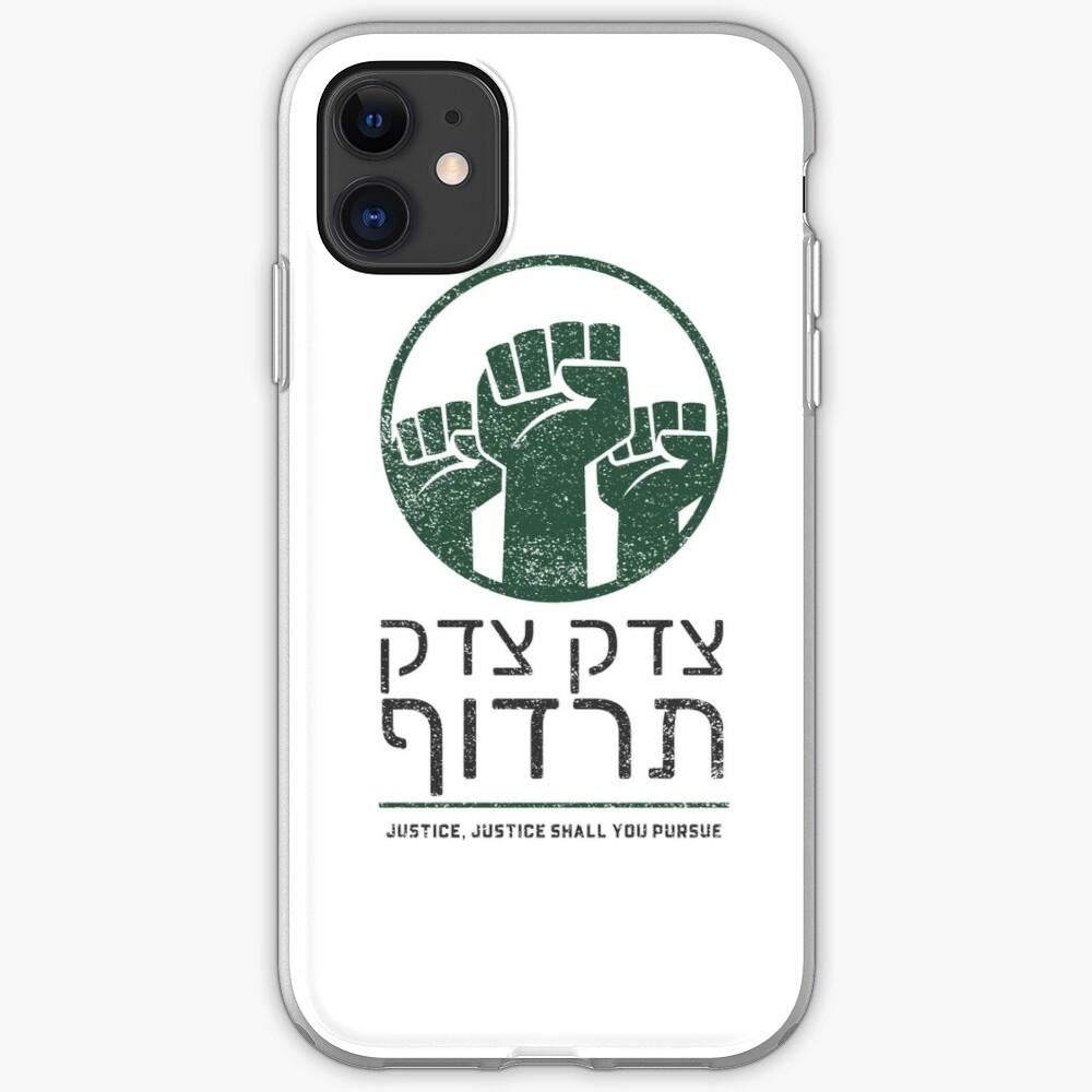 Tzedek Tzedek Tirdof Justice Shall You Pursue Hebrew Torah Quote Iphone 11 Soft By Jmmjudaica Iphone Cases Quotes Quote Iphone Iphone Case Covers