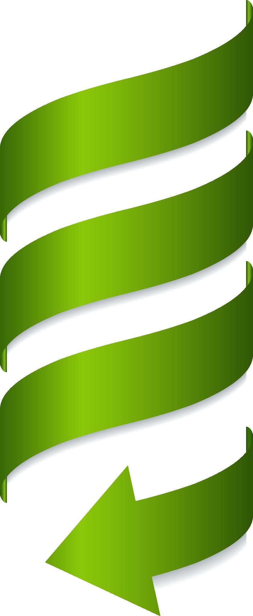 Painted Spiral Euclidean Vector Green Arrow Arrow Image Green Arrow Arrow Clipart