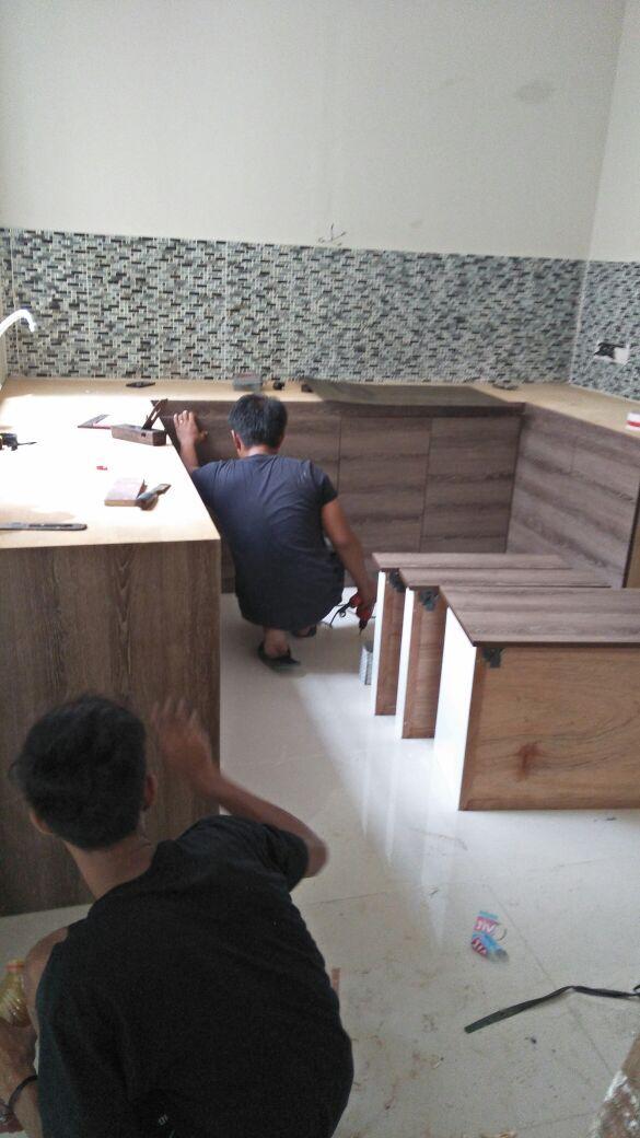 Contoh Gambar Kitchen Set Sederhana Yang Ekonomis Desain Rumah Rumah Dapur Kecil