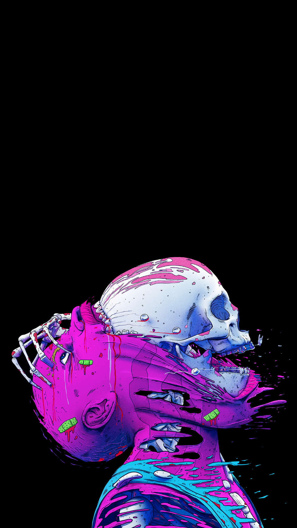 Great for OLED screens [1440 x 2960] Artistic wallpaper