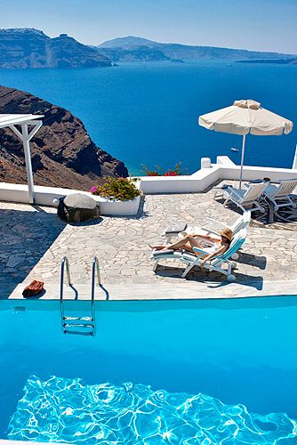 Santorini Greece. Opa!