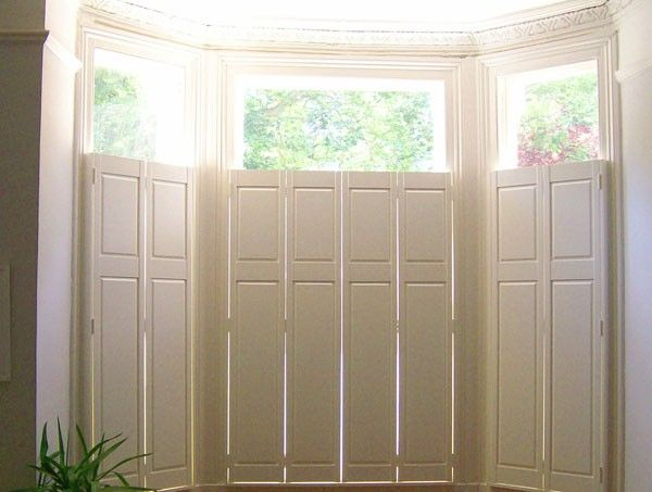 Example Of Georgian Type Of Solid Shutters