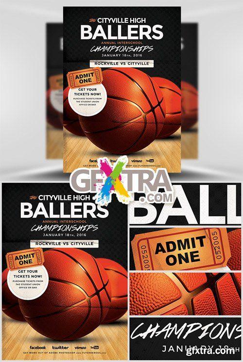 Basketball Flyer Template Basketball Flyer Pinterest Flyer