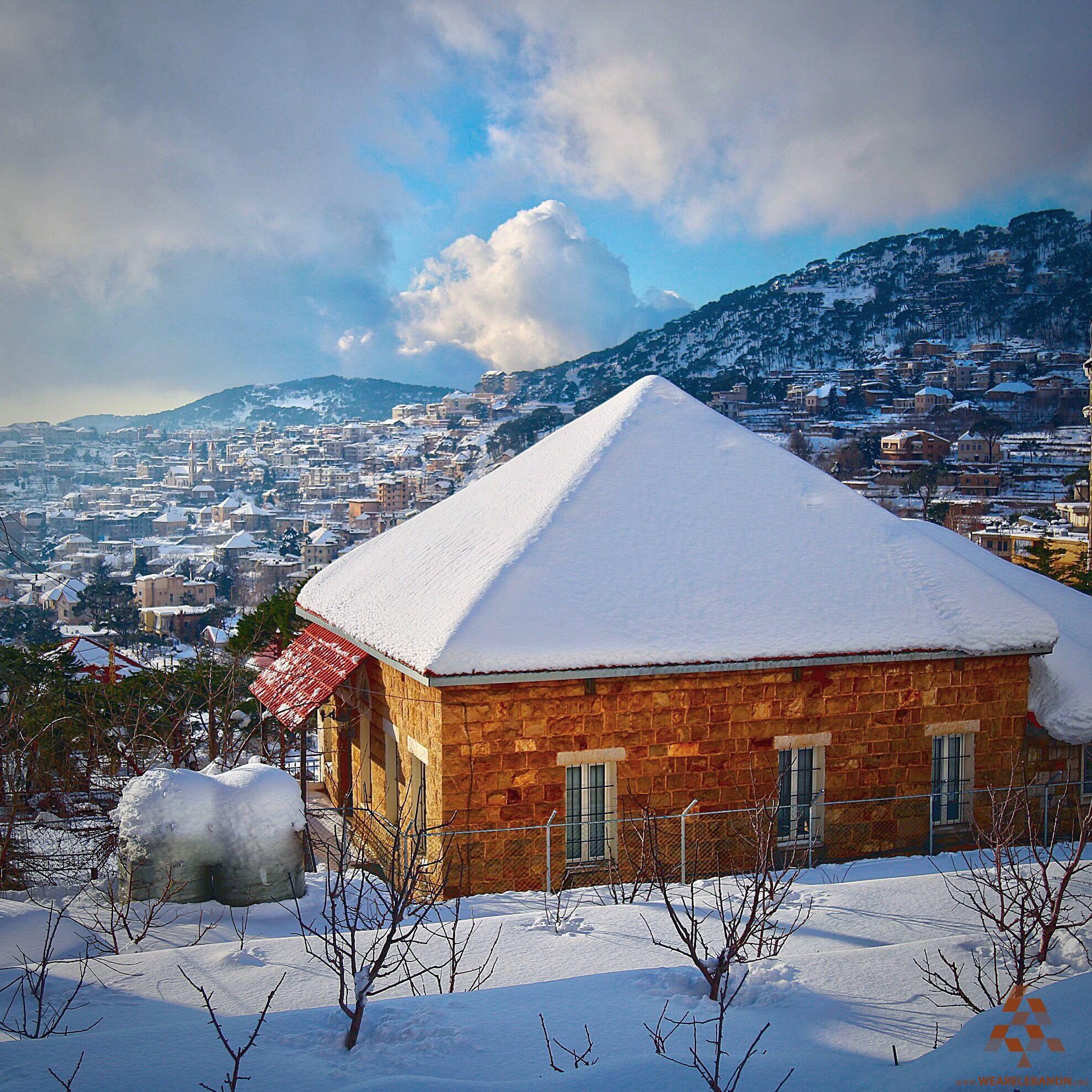 A beautiful house in Baskinta By Antony Fleyhan Lebanon