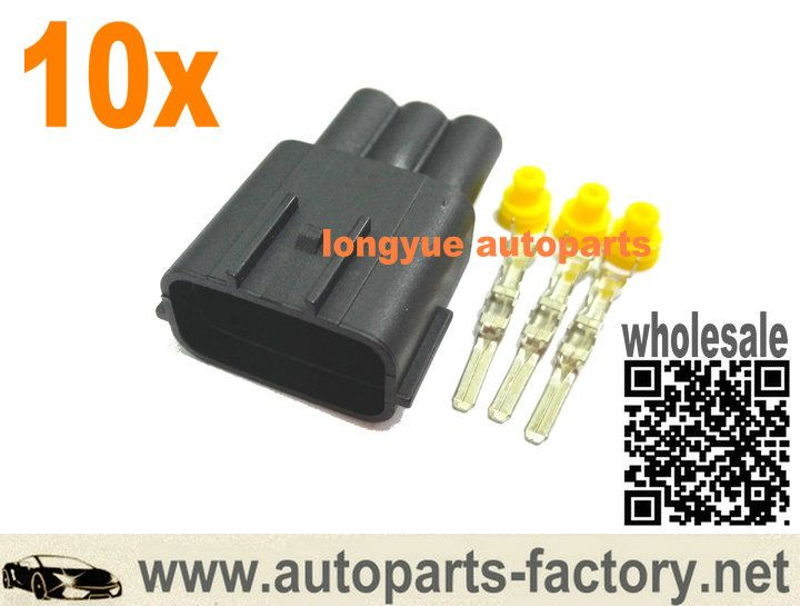long yue Mazda Nissan 3pin Male Coil Plug Connector RB25