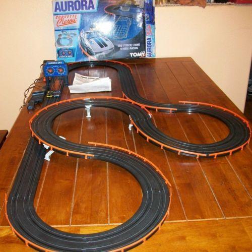 1986 Aurora Afx Ho Corvette Classic Electric Race Track Tomy W 2 Slot Cars Slot Car Racing Ho Slot Cars Slot Cars