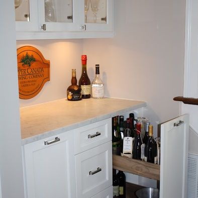 Pull Out Booze Drawer Bar In 2019 Wet Bar Basement