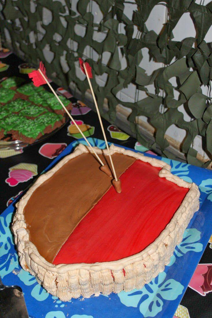 Clash of clans cake. I made this cake for my son. #clashofclans #cake http://kokeilevakeittokirja.blogspot.fi/2014/01/pelimiesten-10-vuotissynttarit-clash-of.html?m=1