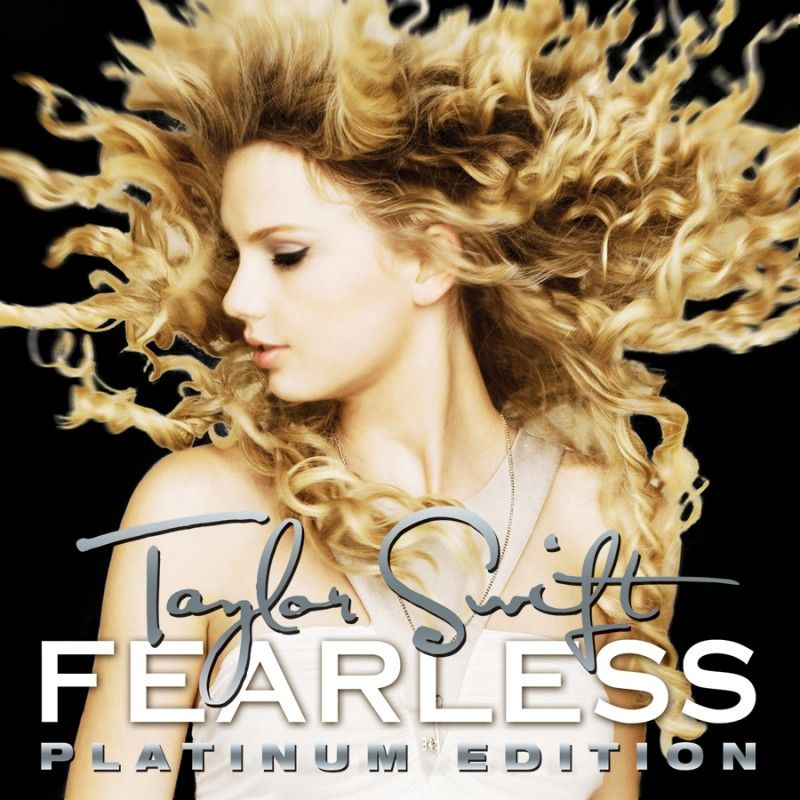 Taylor Swift Album/Single Covers Fearless Platinum Edition