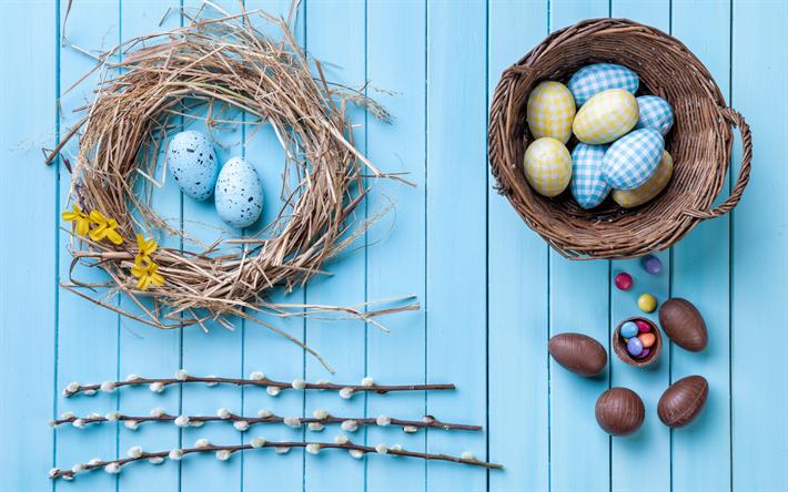 Fondos De Pantalla De Chocolates: Descargar Fondos De Pantalla La Pascua, Nido, Huevos De