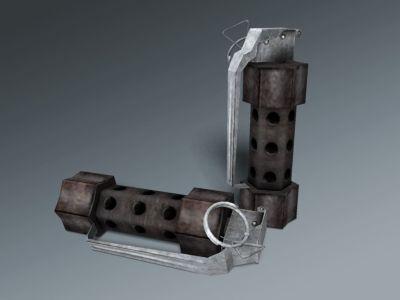 U.S. Army Weapons M84 Stun Grenade