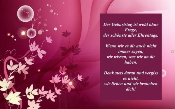Wunderschone Geburtstagsspruche Und Zitate Fur Die Geliebten Menschen Geburtstagsspruche Gedichte Und Spruche Spruche