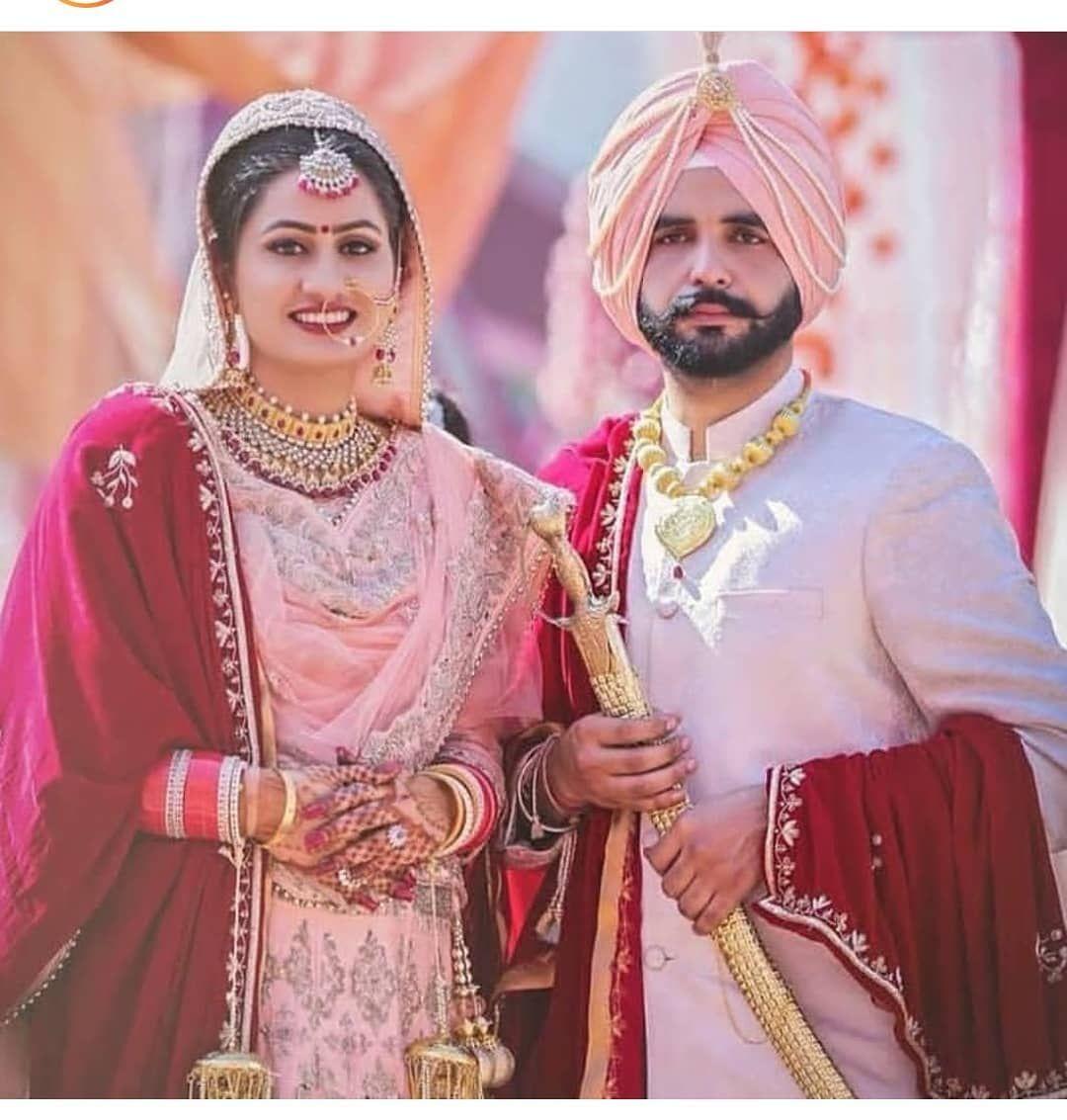 Best Punjabi Couple Pics Images Wallpapers Shayaristatus Com Indian Wedding Couple Punjabi Couple Indian Wedding Outfits