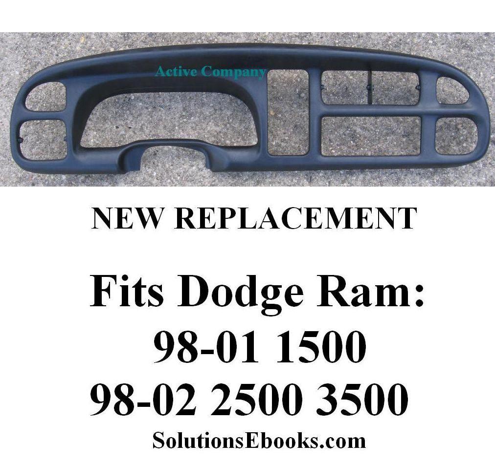1998 1999 2000 2001 Dodge Ram 1500 2002 2500 3500 Dash Bezel Dodge Ram 2001 Dodge Ram 1500 Dodge Ram 1500