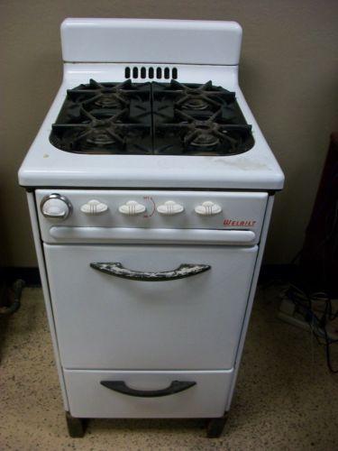 1950 S Clic Vintage Welbilt Apartment Sized Gas Stove Range Ebay