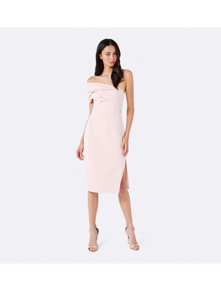 b737bfee15c4 Charlotte Drape Maxi Dress Porcelain - Womens Fashion | Forever New |  Bridesmaids dresses in 2019 | Drape maxi dress, Dresses, Bridesmaid dresses