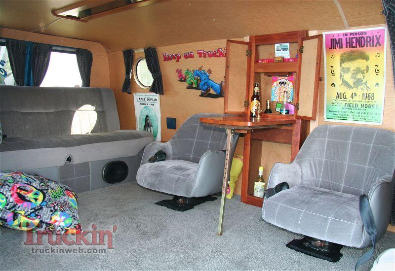 Custom Van Interiors | Custom Van Interior Parts