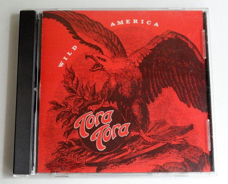 Wild America by Tora Tora (CD, 1992, A&M) #HardRock