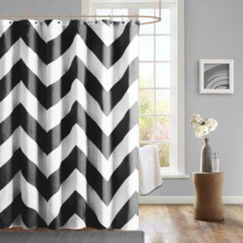 Mi+Zone+Pisces+Fabric+Shower+Curtain