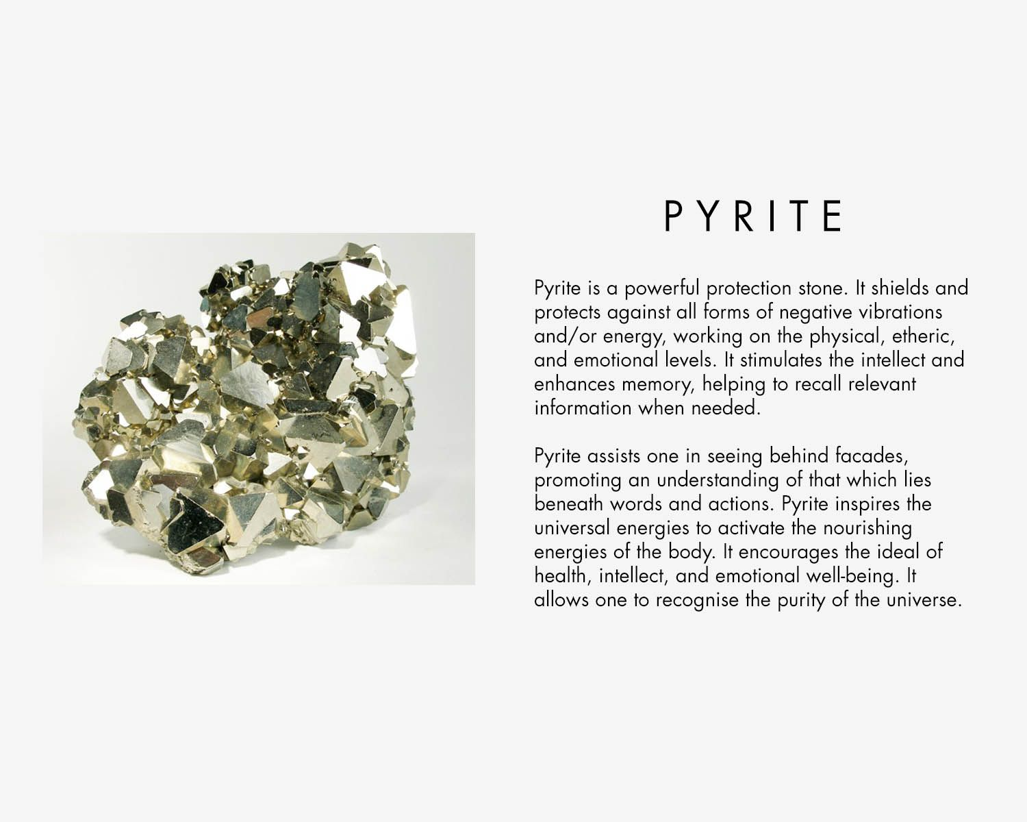 5b18337450de2 Pyrite Crystal Properties - Pyrite is a powerful stone. It should ...