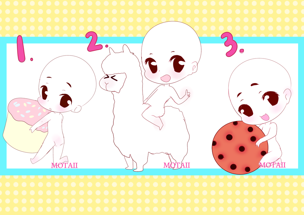 Open Ych Bases Set Price 2 by Motaii Drawing base