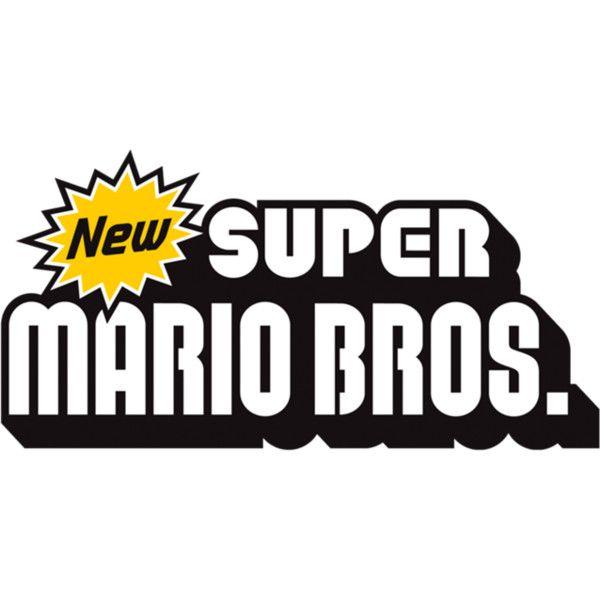 New Super Mario Bros Logo Png Super Mario Bros Mario Bros Super Mario Bros Nintendo