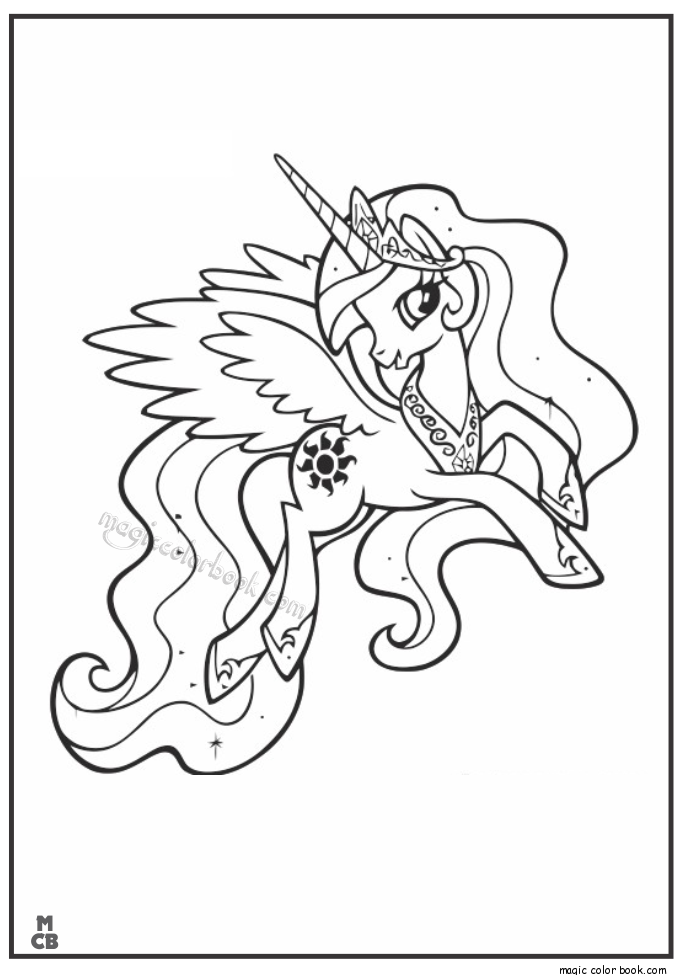 3 Garnets & 2 Sapphires: Free Printables: My Little Pony ... |My Little Pony Friendship Is Magic Coloring Pages Luna