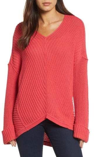 Caslon Cuffed Sleeve Sweater  0b0b2a96b