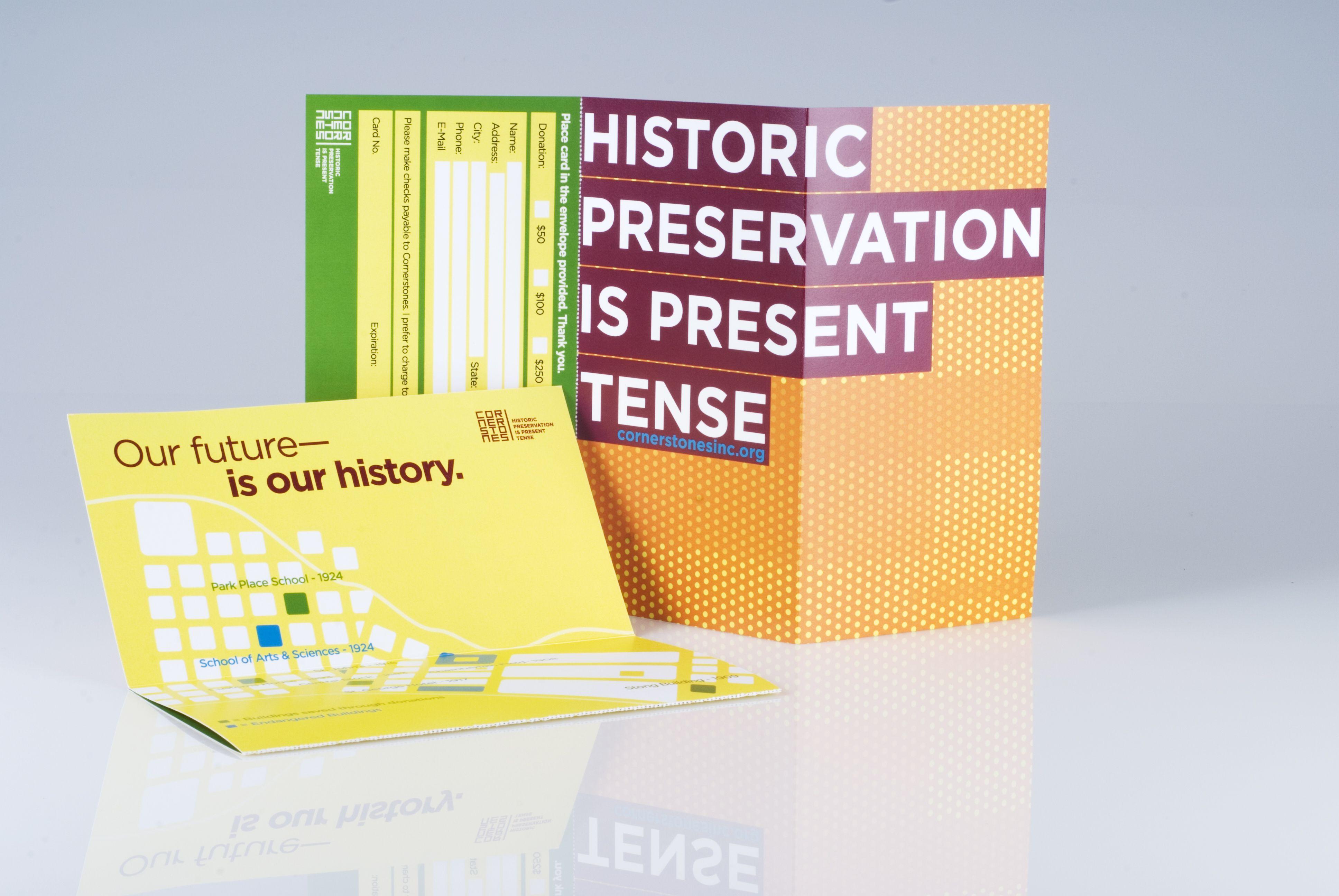Home Page Modlich Monument Company - Brochure for cornerstones a historic preservation non profit