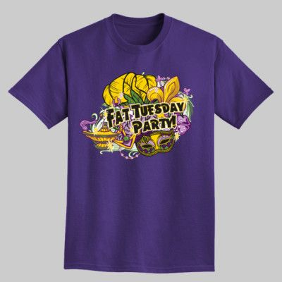 Fat Tuesday Party T-Shirts