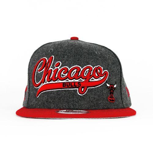 Chicago Bulls Charcoal Grey Snapback Top 5 Classic Vintage Snapbacks http   aab9e2441c2