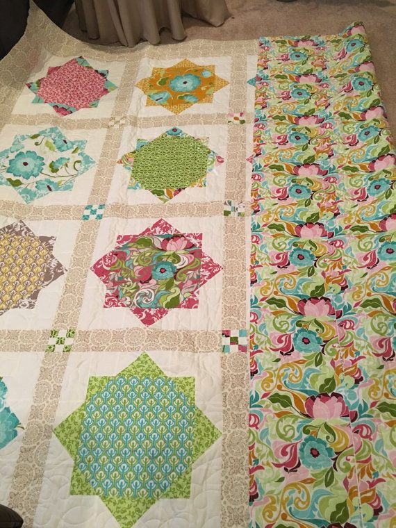 1 Homemade quilts hand pieced quilt quilts for sale modern ... : modern quilts for sale - Adamdwight.com