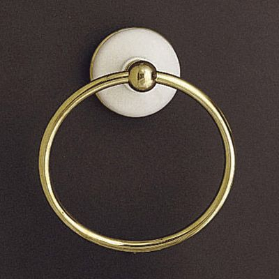 Strom Plumbing Porcelain And Brass Towel Ring 53 Vintage Tub Towel Rings Brass