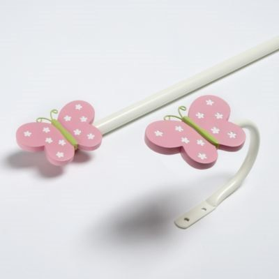 Butterfly Curtain Pole And Hold Backs Ella Kids