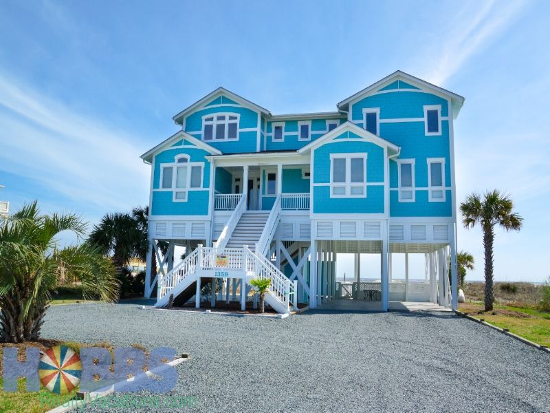 Holden Beach Als Vacation Benvenuto 1359 Obw 8 Bedroom Oceanfront House