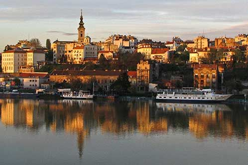Sunset Over Old City Places To Visit Serbia Top 10 Destinations
