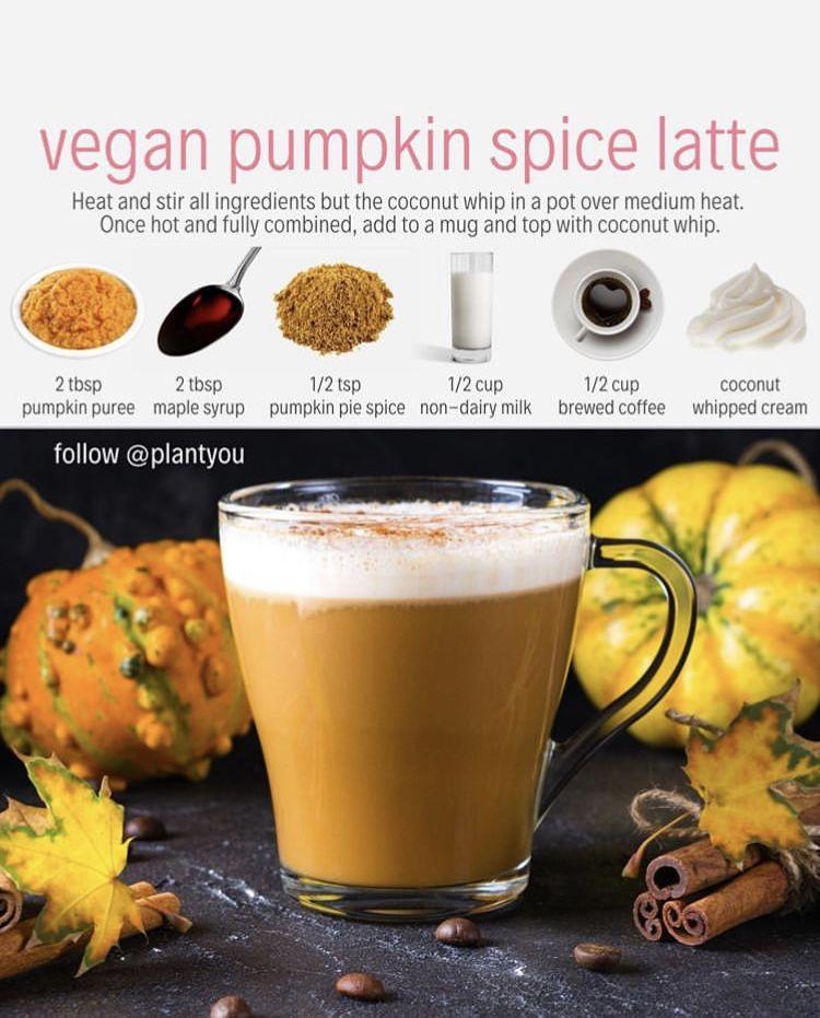 Pumpkin Purée Maple Syrup Pumpkin Pie Spice Non-dairy Milk