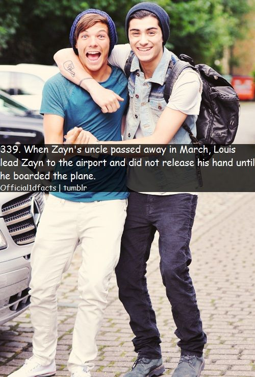 It is so sweet how they support each other (: xx