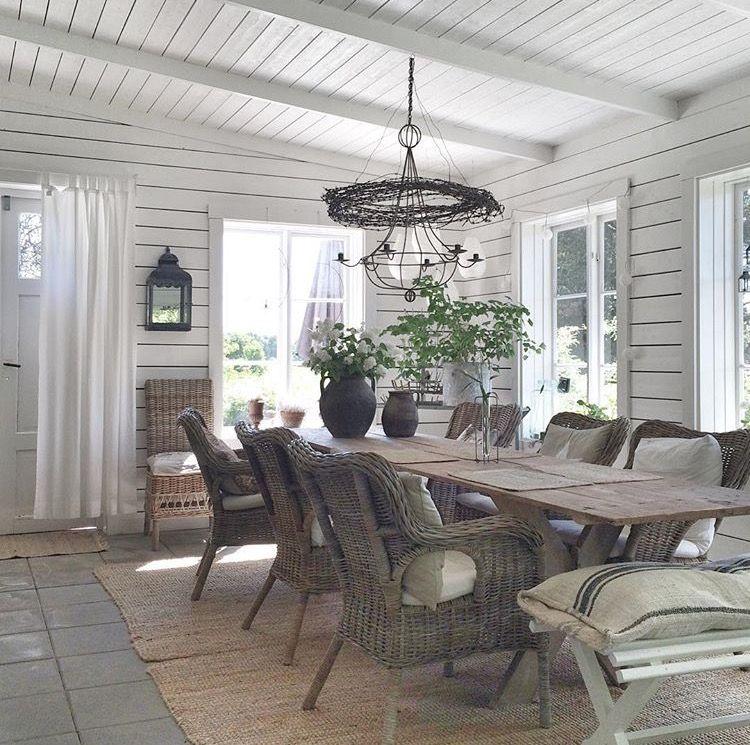 villasmedsbo dining room pinterest wintergarten haus und esszimmer. Black Bedroom Furniture Sets. Home Design Ideas