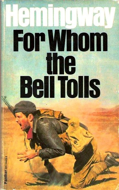 Cover Of The Banned Book By Ernest Hemingway For Whom The Bell Tolls Books Ernest Hemingway Books Hemingway Novels