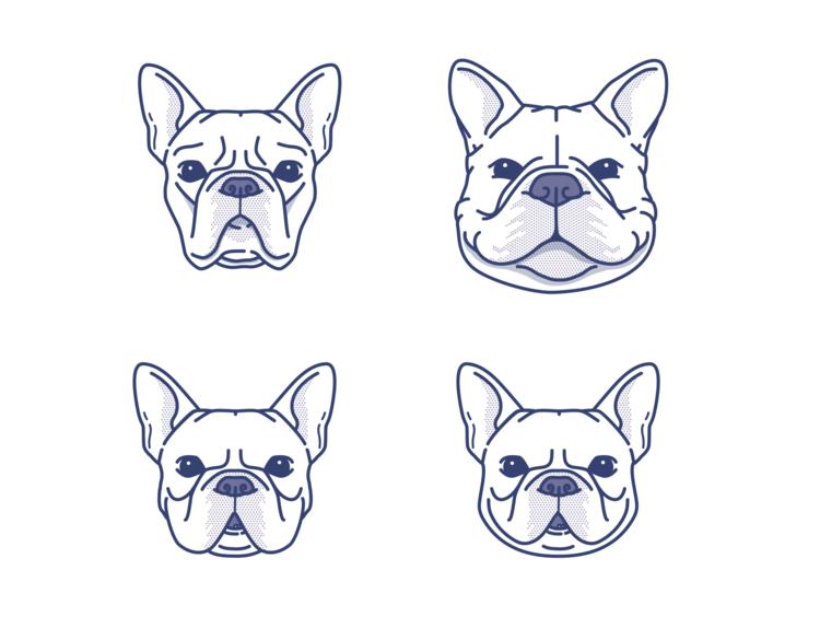 Pin By Matias Canobra On Illustration Icons French Bulldog Art Bulldog Drawing French Bulldog Tattoo