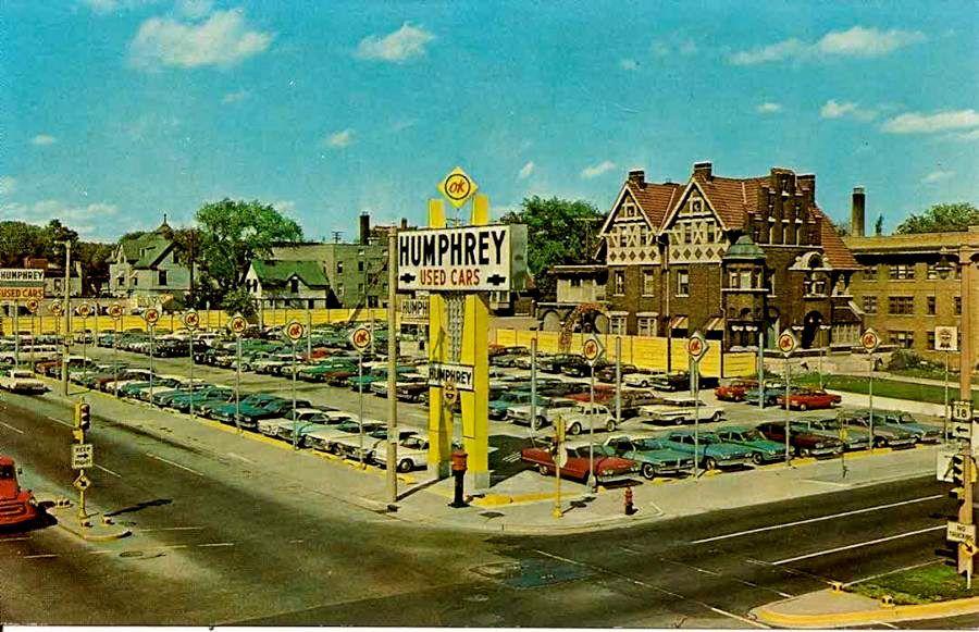 Used Car Dealership | Vintage Car Dealerships | Pinterest | Cars ...
