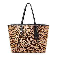 7d04e65ba59e Leopard-Print Haircalf Tote - Polo Ralph Lauren Totes - RalphLauren ...
