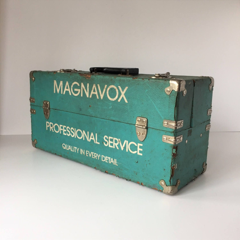 Magnavox Toolbox Vintage Repairman S Toolbox Tube Radio