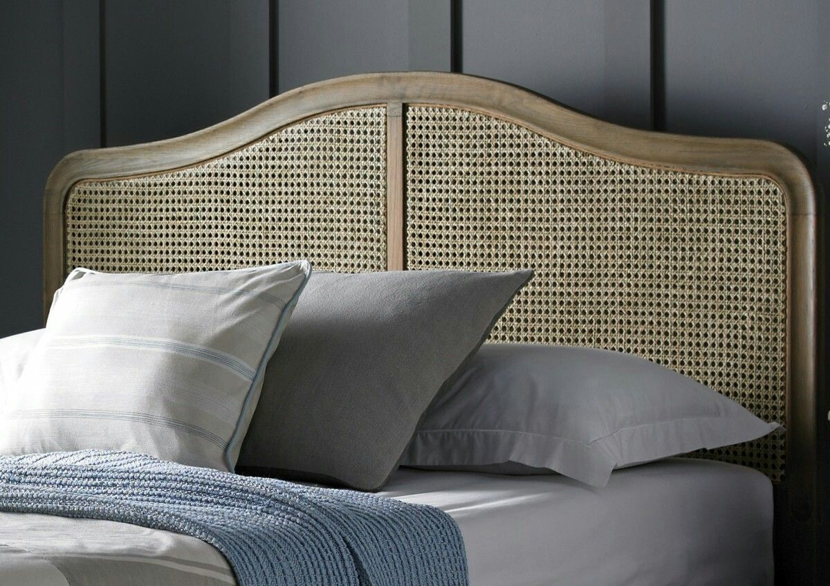 Rattan Matting On Beam Wood Bed Rattan Bed Frame Rattan Bed