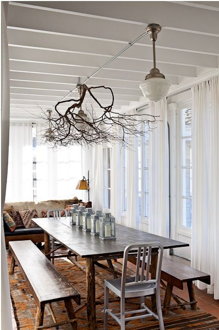 Bringing The Outside In Decorating With Branches Interer